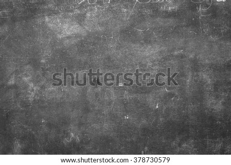 chalkboard, blackboard texture with copy space. blank - stock photo