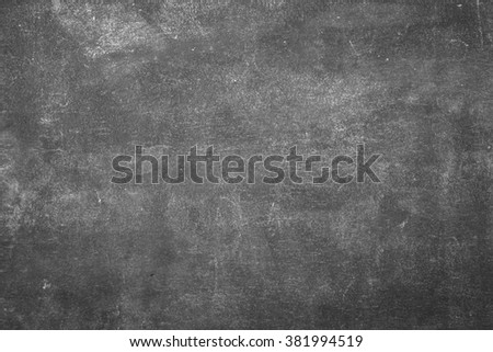 chalkboard, blackboard texture with copy space. blank - stock photo