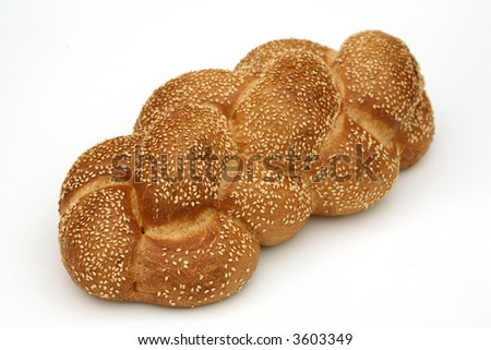 Challa isolated - stock photo