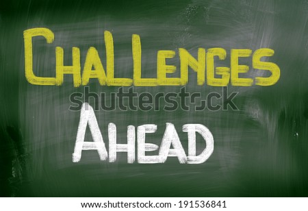 Challenges Ahead Concept - stock photo