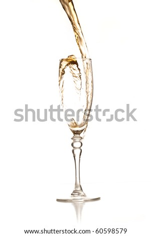 Champagne. - stock photo