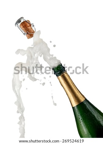how to close a champagne bottle
