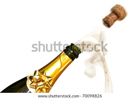 Champagne celebrations - stock photo