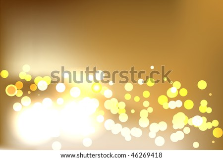 champagne light background - stock photo