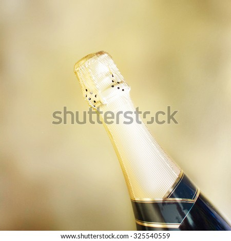 Champagne.New Year Celebration