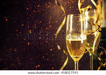 Champagne ready to bring in the New Year