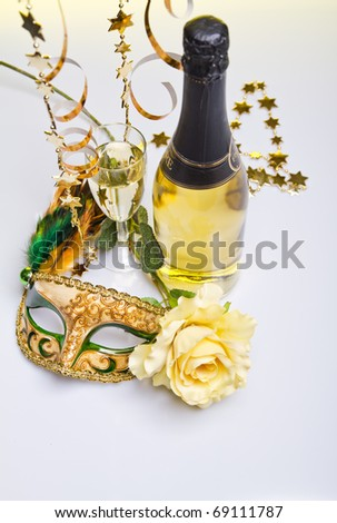 Champagne time - stock photo