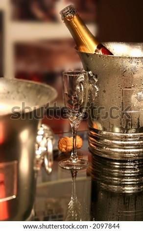 champaign - stock photo