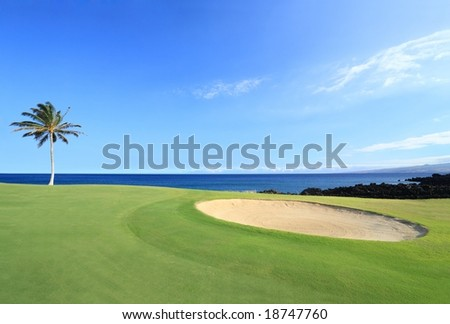 Champions Golf Course, kona, Hawaii