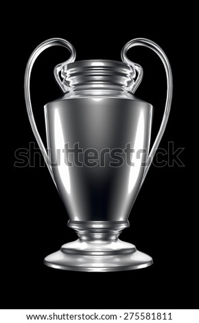 champions league cup  - stock photo