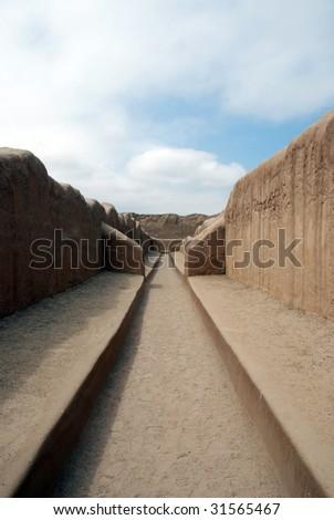Chan Chan, Peru - stock photo