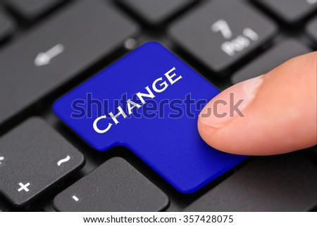 change - stock photo