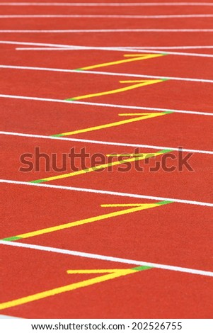 change marks - stock photo