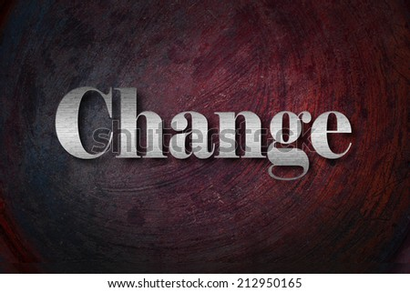 Change Text on background - stock photo