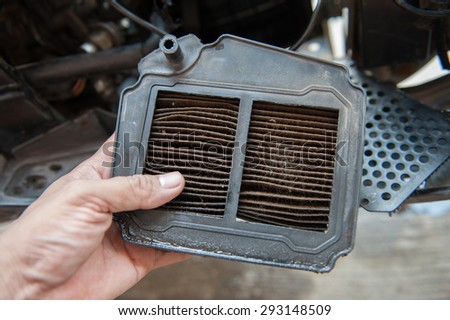 Change the air filter