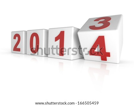 Changing the year 2013 to 2014
