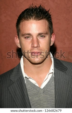 Channing Tatum at the Hollywood Life Magazine's Breakthrough of the Year Awards. Music Box, Hollywood, California. December 10, 2006. - stock photo