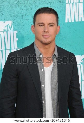 Channing Tatum at the 2012 MTV Movie Awards at Universal Studios, Hollywood. June 4, 2012  Los Angeles, CA Picture: Paul Smith / Featureflash - stock photo