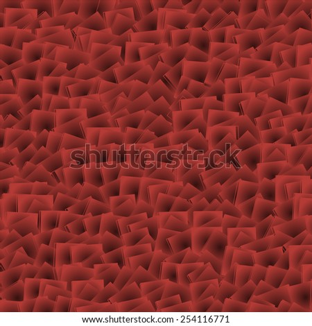 Chaos red background, raster version - stock photo