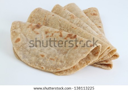 chapati - stock photo