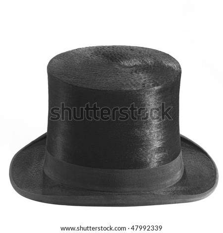 chapeau claque - stock photo