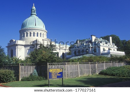 Chapel at the United States Naval Academy, Annapolis, Maryland