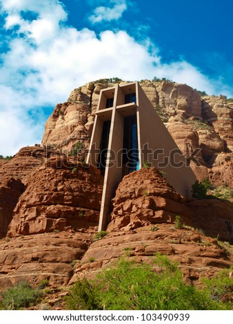 Chapel of the Holy Cross.  Sedona, Arizona