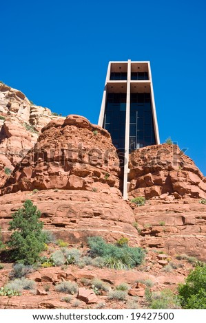 Chapel of the Holy Cross Sedona Arizona - stock photo