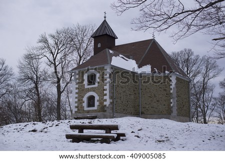 Chapel on Medvednica, Croatia