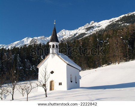 Chapell in Tirol This Photo was taken on a cold winter day in Tirol / Austria.