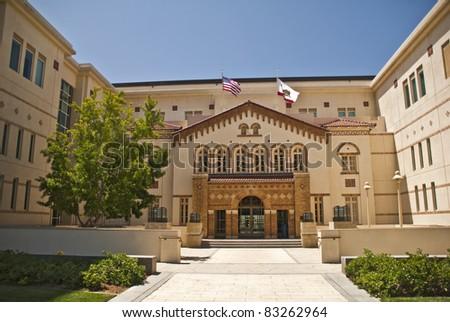 Chapman University Law School in Orange, California - stock photo