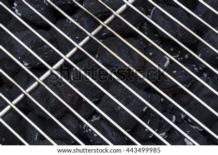 Charcoal Grill - stock photo