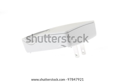 Charger isolated on white background