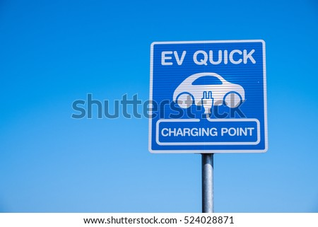 charging station for electric vehicle.