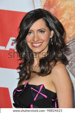 "Charlene Amoia at the US premiere of ""American Reunion"" at Grauman's Chinese Theatre, Hollywood. March 19, 2012  Los Angeles, CA Picture: Paul Smith / Featureflash"