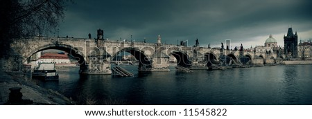 Charles bridge, Prague - stock photo