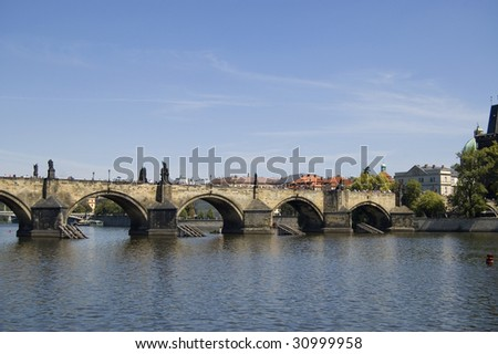 Charles's bridge in Prague