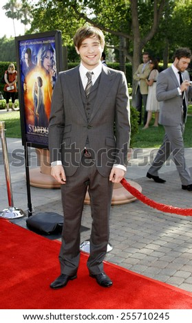 """Charlie Cox attends the Los Angeles Premiere of """"Stardust"""" held at the Paramount Pictures Studios in Hollywood, California, on July 29, 2007.  - stock photo"""