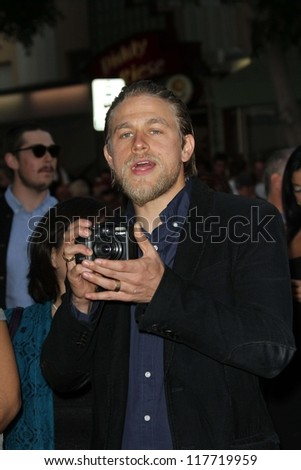 "Charlie Hunnam at the ""Sons of Anarchy"" Season 5 Premiere, Wadsworth Theater, Santa Monica, CA 09-08-12"