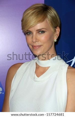 Charlize Theron at Variety's 5th Annual Power of Women, Beverly Wilshire, Beverly Hills, CA 10-04-13 - stock photo