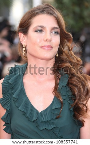 Charlotte Casiraghi arriving for the 'Madagascar 3' premiere- during the 65th Cannes Film Festival Cannes, France. 18/05/2012 Picture by: Henry Harris / Featureflash - stock photo
