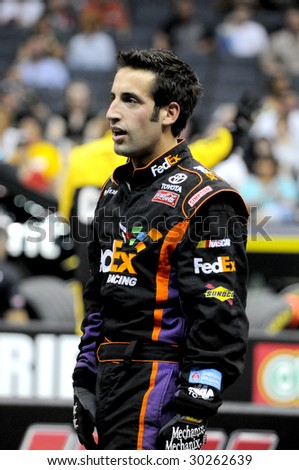 Stock Photo Charlotte Nc May The Fedex Team Was Penalizedfor A Fasle Start The Jackman Reacts In on Nascar Air Impact Wrench