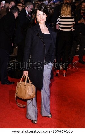 "Charlotte Riley arrives for the premiere of ""Locke"" which is being screened at the Odeon West End as part of the bfi London Film Festival 2013, London. 18/10/2013"