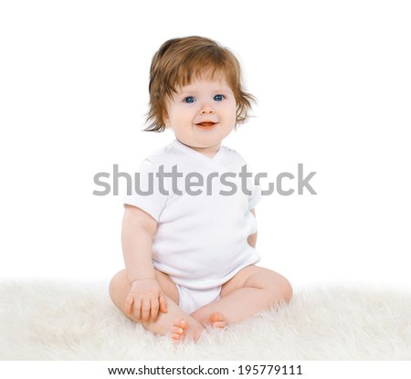 Charming baby  - stock photo