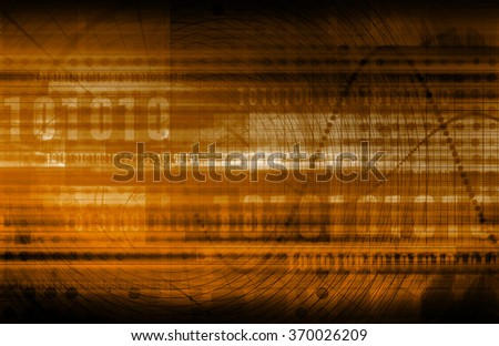 Chart Abstract and Data Analysis as a Concept - stock photo