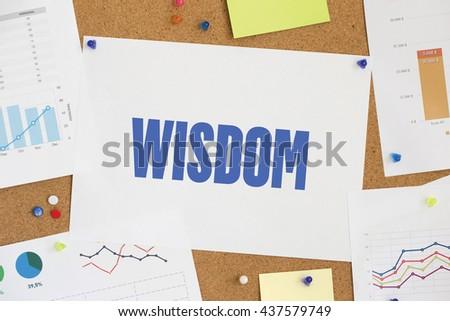 CHART BUSINESS GRAPH RESULT COMPANY WISDOM CONCEPT - stock photo