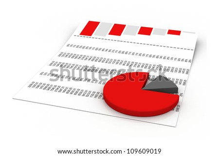 charts and graphs - stock photo