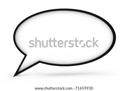 chat box - stock photo