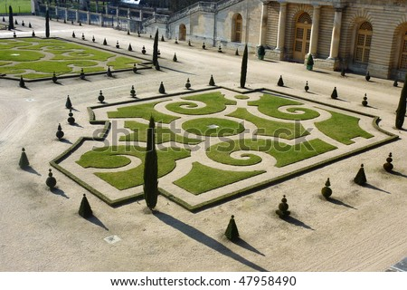 Chateau de Versailles - stock photo