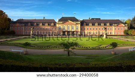 Chateau Dobris - Czech Republic - stock photo